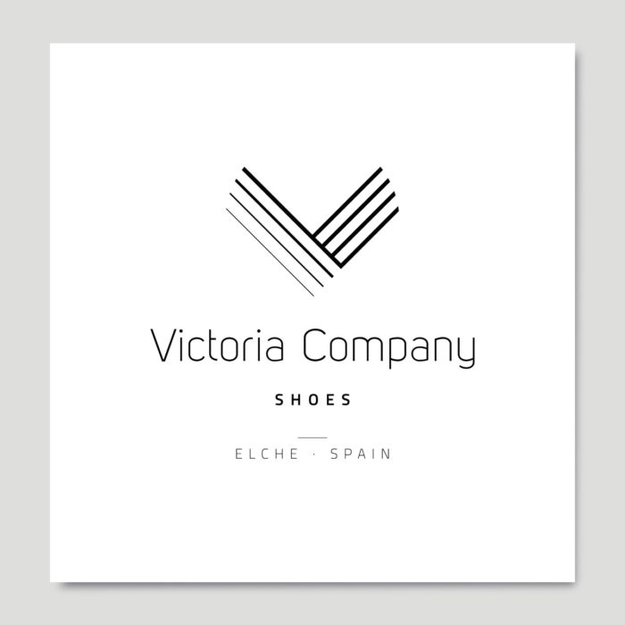 Identidad corporativa Victoria Company Shoes por Creatias Estudio